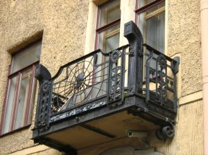 Lidval House balcony