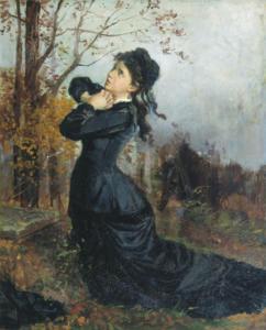 Молодая вдова
