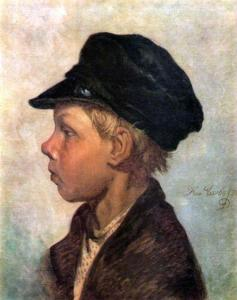 Крестьянский мальчик