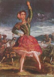 Ля Петра Камара. Испанский танец