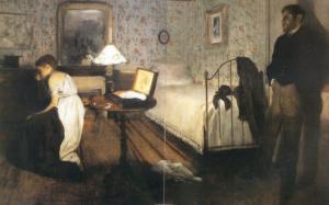1868 1869 Edgar Degas- Le Viol